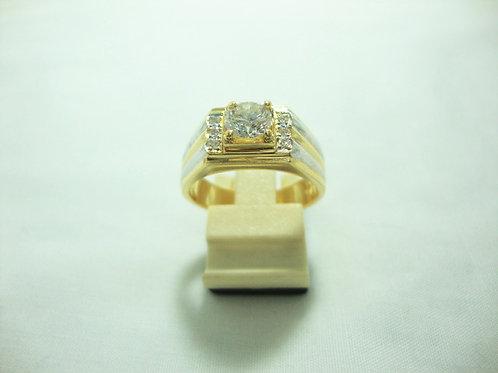 20K GOLD DIA RING 1/61P 6/30P
