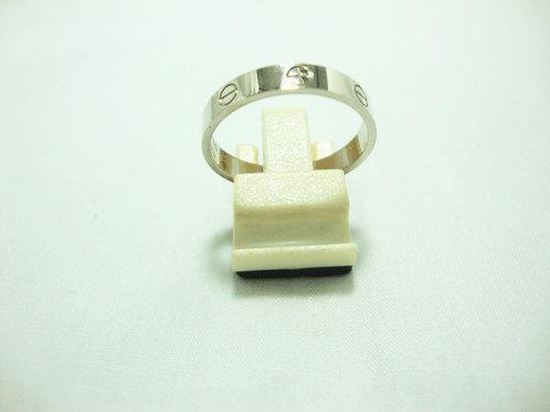 18K WHITE GOLD RING ( CARTIER )