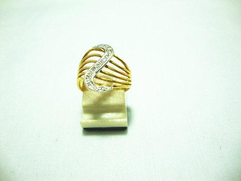 916 GOLD DIA RING 13/13P