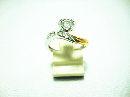 18K WHITE GOLD DIA RING 1/35P 5/5P