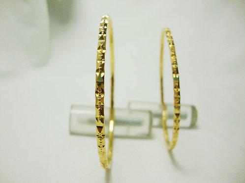 916 GOLD BANGLE ( 2 )