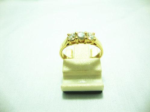 20K GOLD DIA RING 3/54P