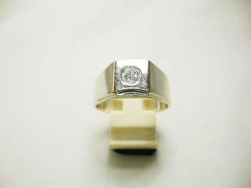 18K WHITE GOLD DIA RING 1/49P