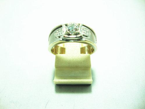 18K WHITE GOLD DIA RING 1/35P 20/20P