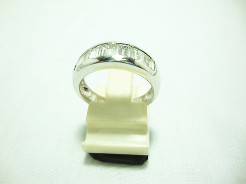 18K WHITE GOLD DIA RING 11/88P