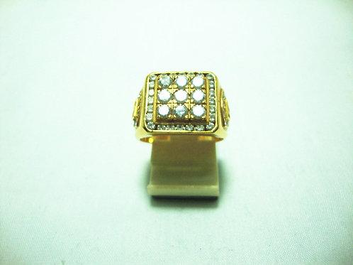 20K GOLD DIA RING 155P