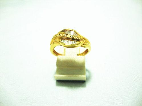 18K GOLD DIA RING 35P