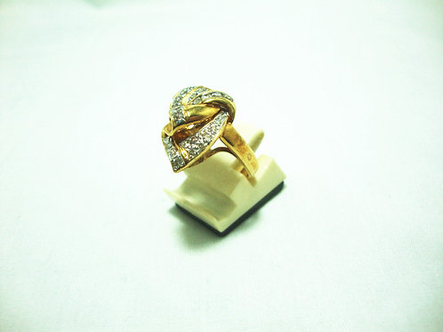 18K GOLD DIA RING 24/48P