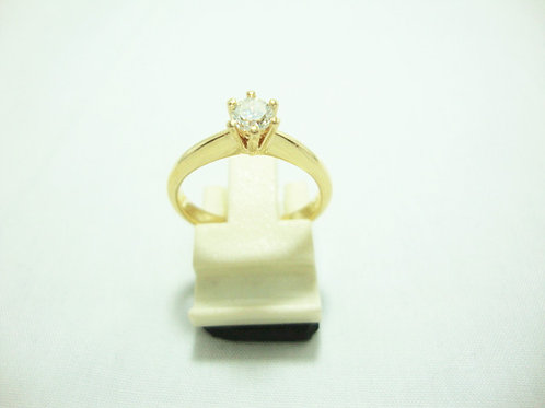 18K GOLD DIA RING 1/33P