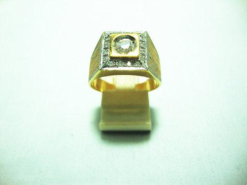20K GOLD DIA RING 1/35P 16/16P