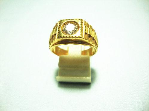 916 GOLD DIA RING 65P
