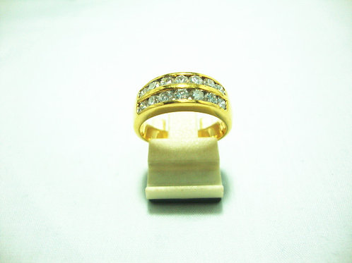20K GOLD DIA RING 120P