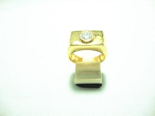 18K GOLD DIA RING 1/138P