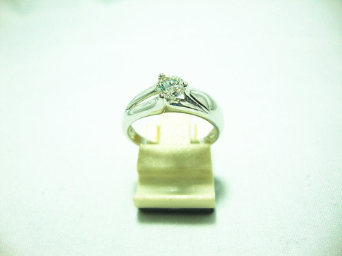 18K WHITE GOLD DIA RING 1/35P