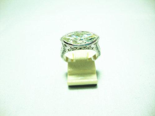18K WHITE GOLD DIA RING 1/270P
