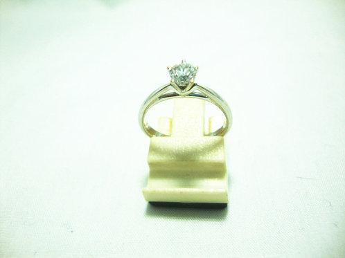 18K WHITE GOLD DIA RING 1/26P