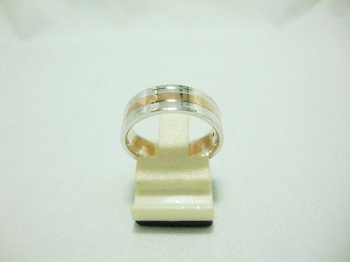 18K WHITE GOLD DIA RING 1/5P