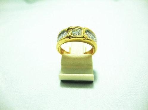 20K GOLD DIA RING 1/25P