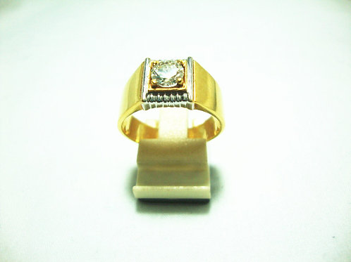 20K GOLD DIA RING 62P