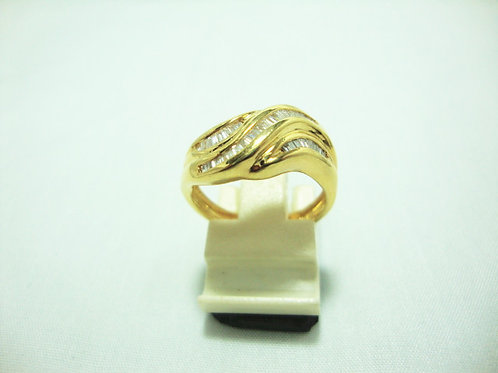 18K GOLD DIA RING 38/38P