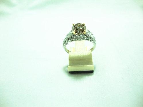 18K WHITE GOLD DIA RING 1/154P 87/87P