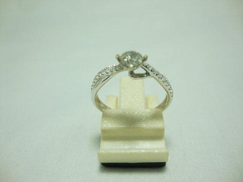 9K WHITE GOLD DIA RING 1/30P 18/18P