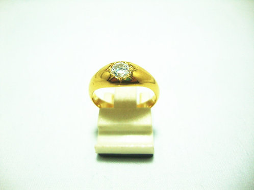 20K GOLD DIA RING 40P