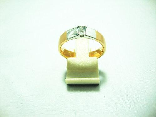 18K WHITE GOLD DIA RING 3/15P
