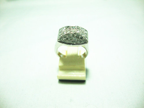 18K WHITE GOLD DIA RING 48/144P