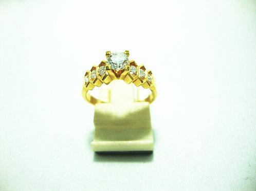 916 GOLD DIA RING 1/34P 6/30P