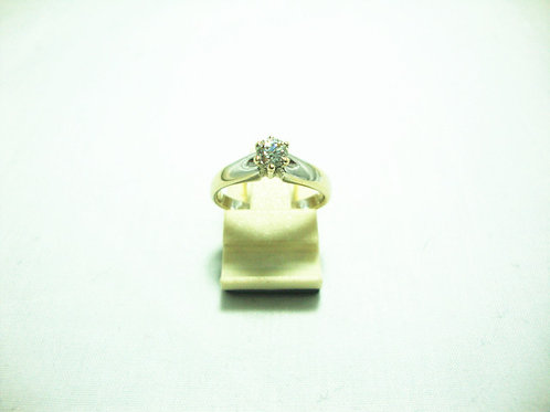18K WHITE GOLD DIA RING 1/23P