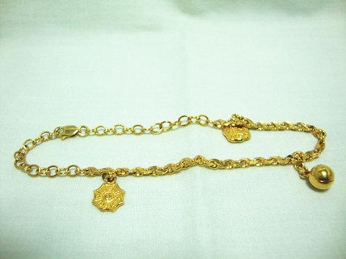 916 GOLD BABY BRACELET