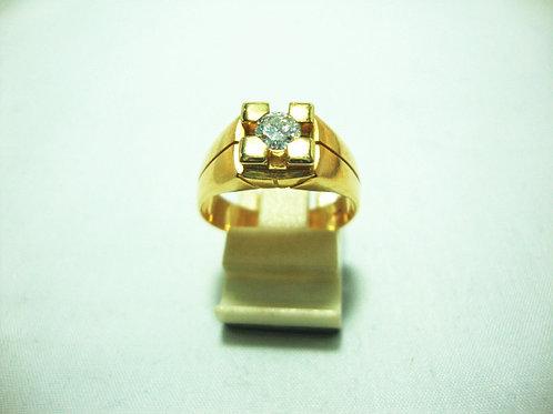 14K GOLD DIA RING 1/55P