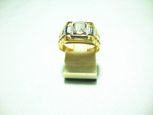 18K GOLD DIA RING 1/40P