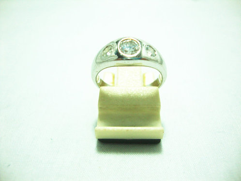 18K WHITE GOLD DIA RING 1/30P 2/24P
