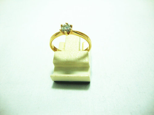 18K GOLD DIA RING 1/22P