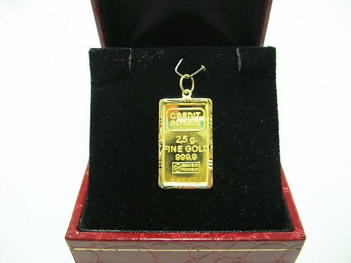 24K GOLD PENDANT ( FRAME 916 )