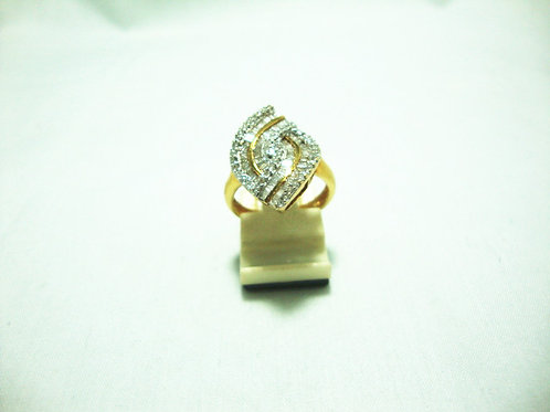 18K GOLD DIA RING 106/106P