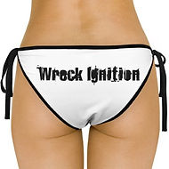 Wreck Ignition Swinsuit Bottom Logo Back