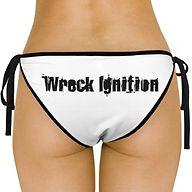Wreck Ignition Swinsuit Bottom Logo Back