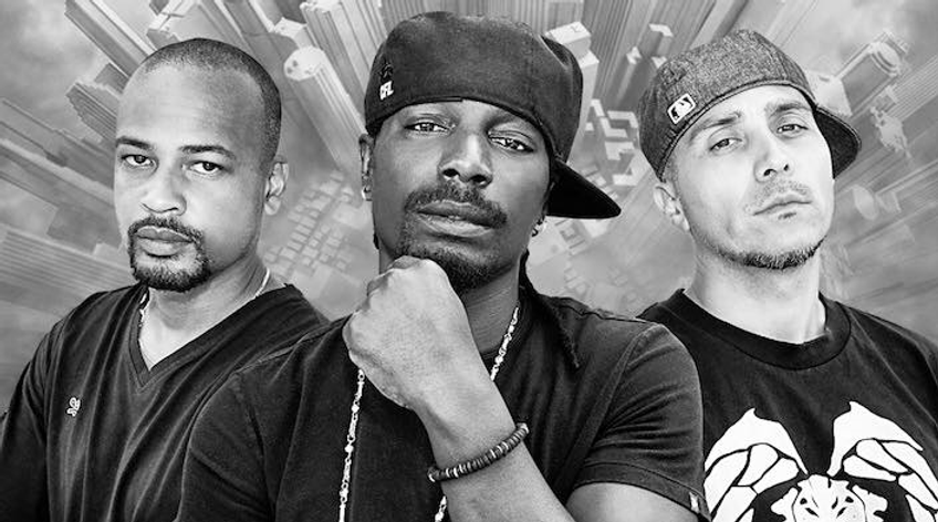 A photo of Canadian Rap Group - Rascalz featuring Red 1, Misfit and DJ Kemo. This group hails from Vancouver, British Columbia.