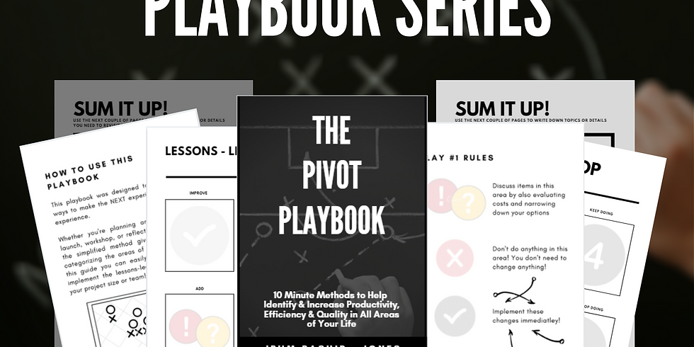 Playbook Series Book Launch + Author Q&A