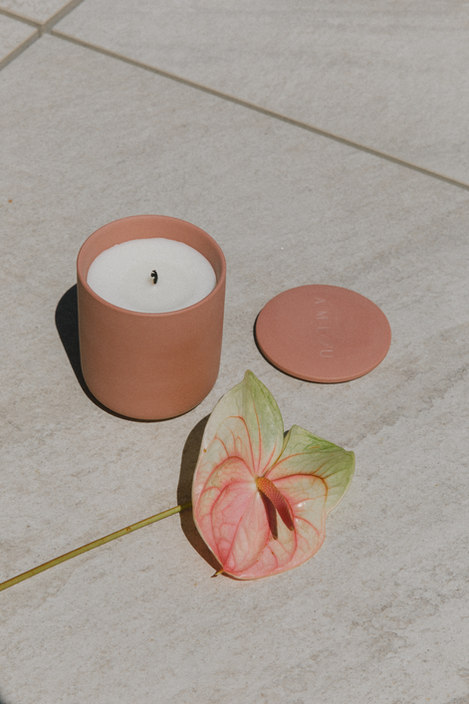 The Medina Ceramic Candle