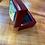 Thumbnail: Lehua Mamo Ceramic Tile on a Small, Rosewood Jewelry Box