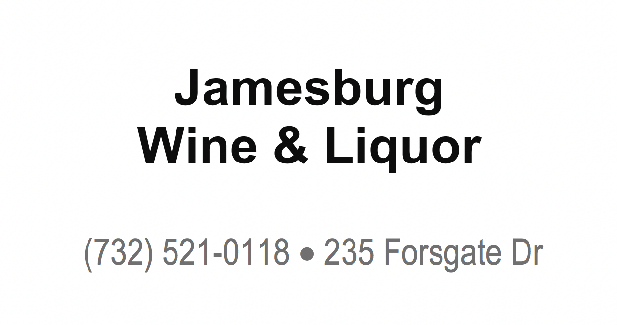 Jamesburg Wine _ Liquor