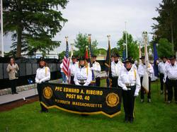 Color Guard at the Wall 2009.JPG