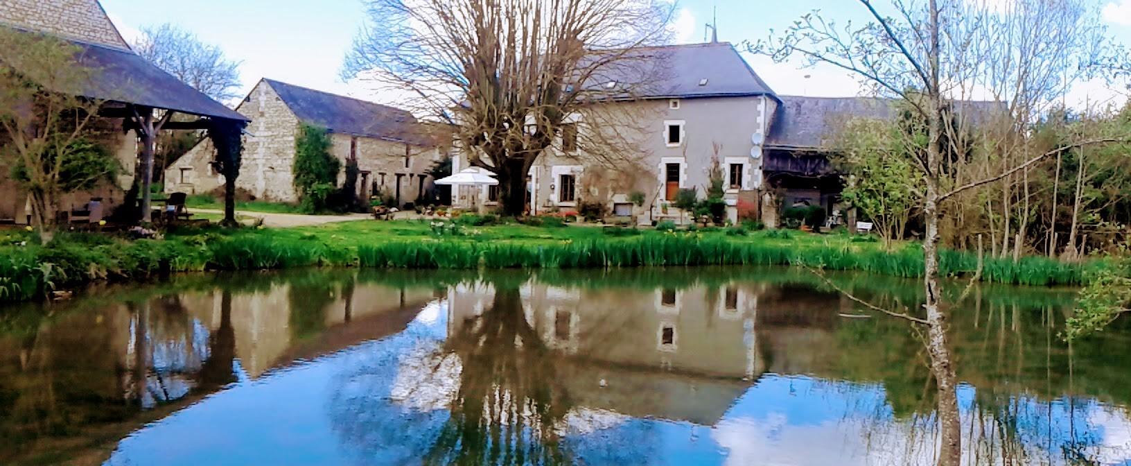 L'étang et la maison