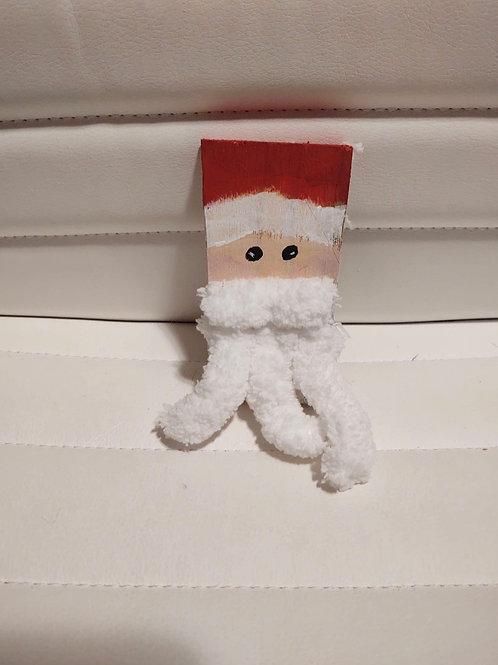 Shabby Wooden Santa