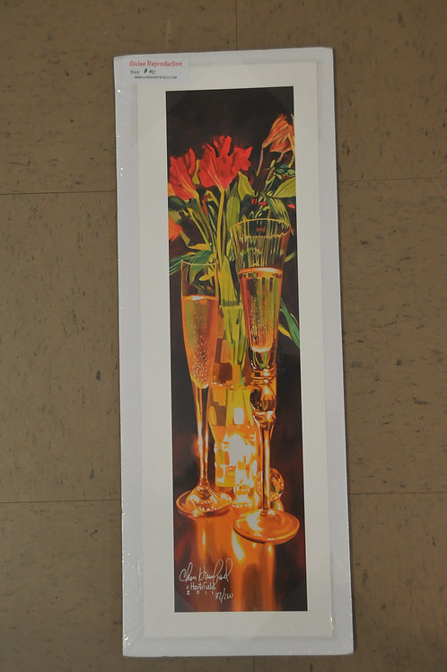 Giclee Canvas print of Champaign by Chris Hartsfield