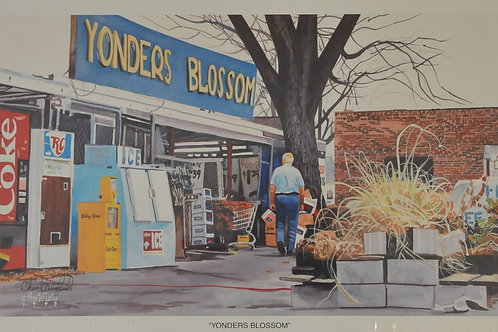 Giclee Canvas print of Yonders Blossom